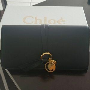 Authentic Chloe Alphabet Long Wallet
